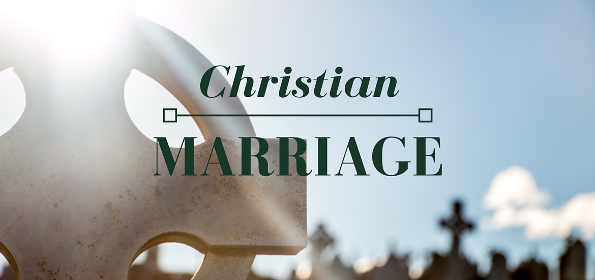 Christian Marriage - post on Literate Theology / Kate Rae Davis