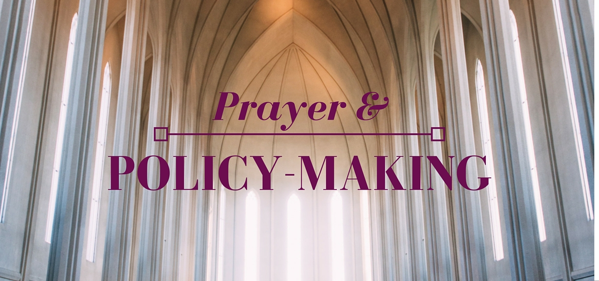 Prayer & Policy-Making - Literate Theology / Kate Rae Davis