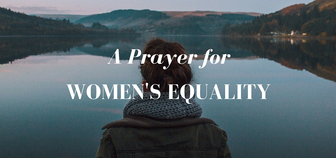 A Prayer for Women's Equality in the Celtic style
