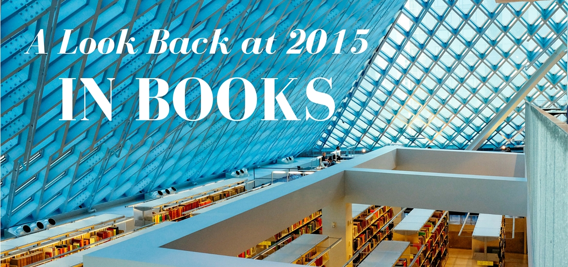 a look back at 2015 in books - read on KateRaeDavis.com