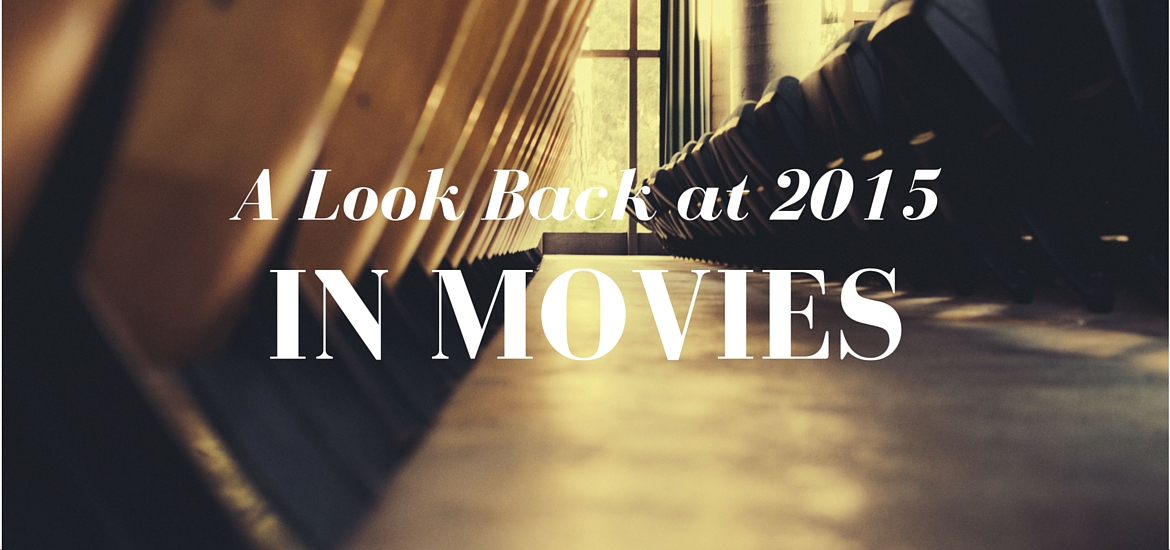 a look back at the movies I saw in 2015 - read on KateRaeDavis.com