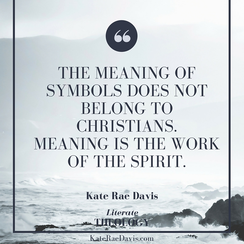 How Christian ritual began and how symbolism functions in ritual - read on Literate Theology