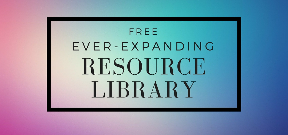 Introducing the Free Resource Library at KateRaeDavis.com