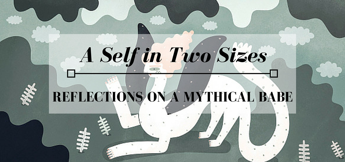 "reflections on Sarah Goodreau's illustration ""a mythical babe"" and what it says about selves - Literate Theology / KateRaeDavis.com"