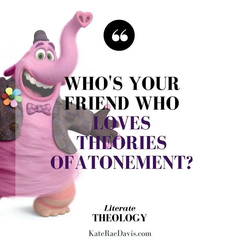 What does Bing Bong teach us about the atonement? - Literate Theology / KateRaeDavis.com (image property of Disney/Pixar)