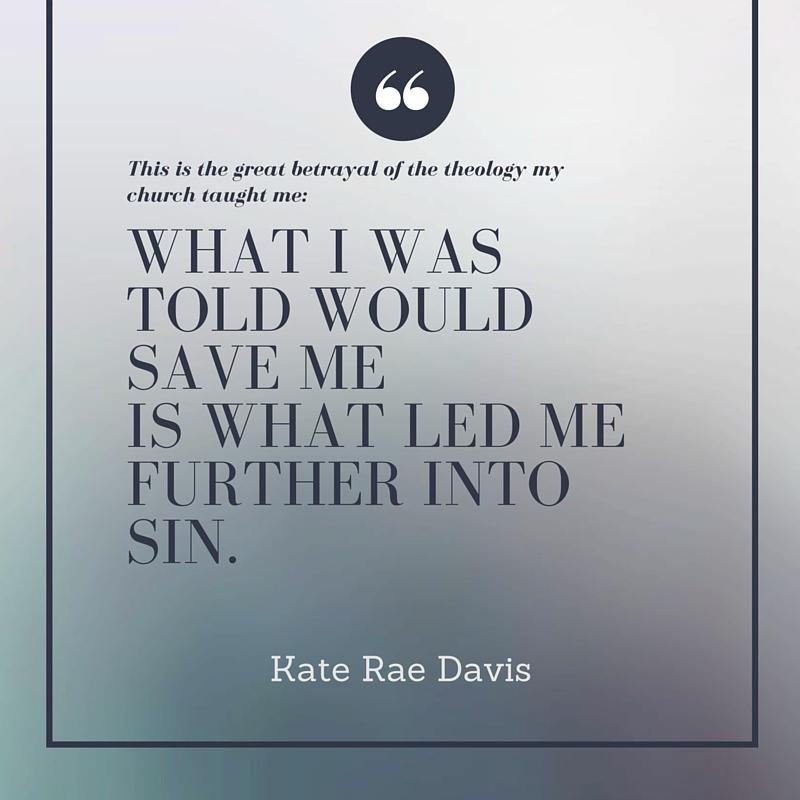 The Liberating Good News of My Sin - read on KateRaeDavis.com
