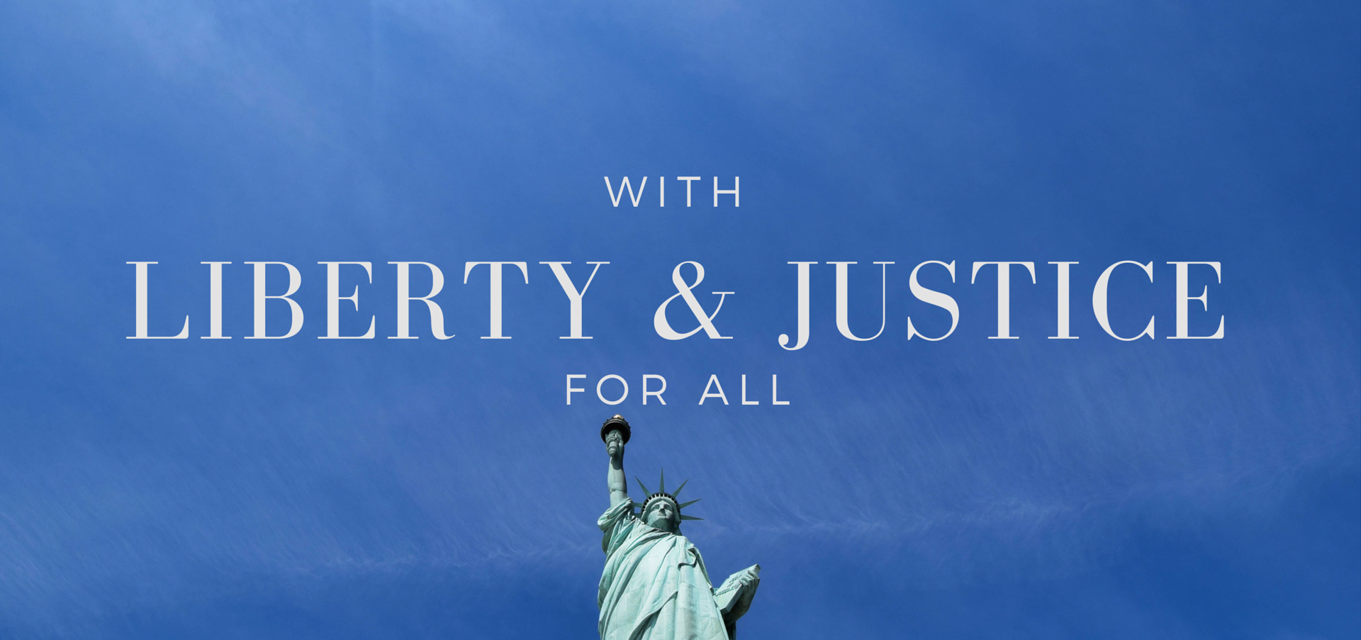 "Examining the application of ""liberty and justice for all"" against the intent of the divine in Christian scripture - read on KateRaeDavis.com"