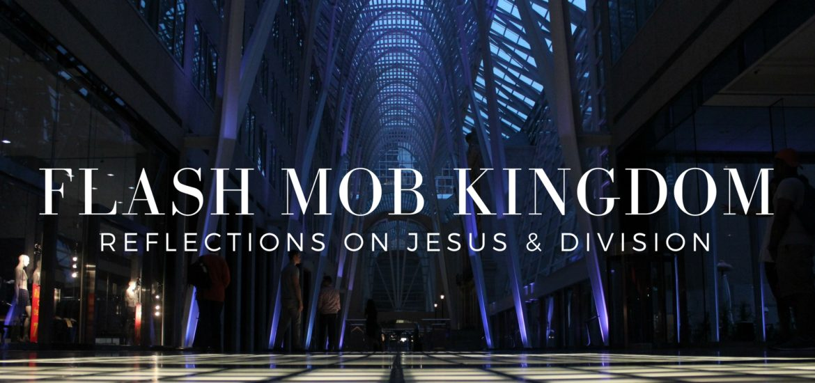 "Reflections on Jesus's claim that he comes to bring ""not peace but division"" - read on KateRaeDavis.com  Flash Mob Kingdom"