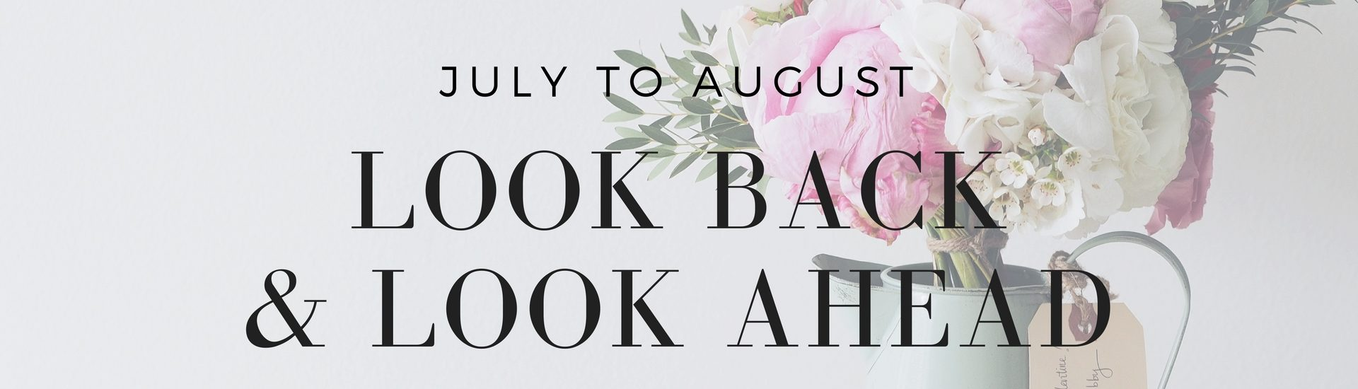 A look back at what I read and watched in July, and a look forward to what's on top of my to-read list for August - read on KateRaeDavis.com
