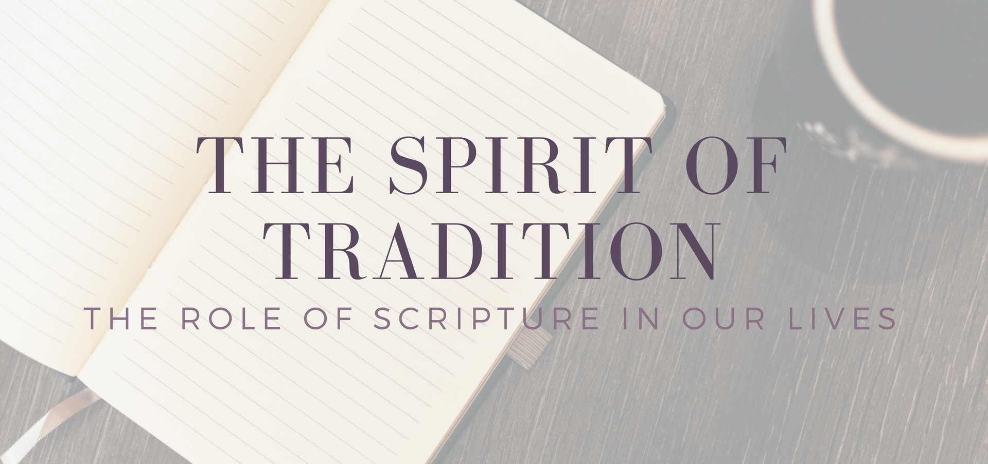 The Spirit of Tradition: The Role of Scripture in Our Lives - reflections on what the Rich Man's conversation with Abraham can tell us on KateRaeDavis.com